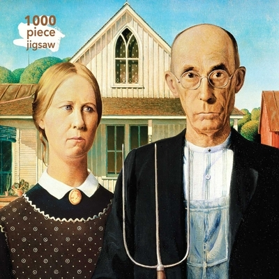 Adult Jigsaw Puzzle Grant Wood
