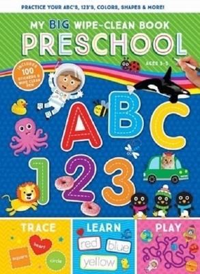 My Big Wipe Clean Preschool