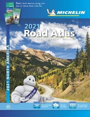 Michelin North America Road Atlas 2021