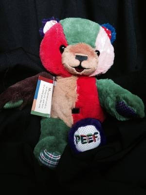 "Peef the Christmas Bear 12"" Plush"