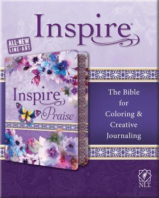 Inspire Praise Bible NLT, Feminine Deluxe