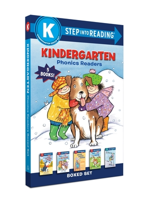 Kindergarten Phonics Readers Boxed Set: Jack and Jill and Big Dog Bill, the Pup Speaks Up, Jack and Jill and T-Ball Bill, Mouse Makes Words, Silly Sar