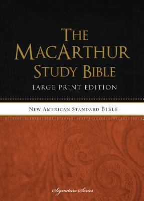 MacArthur Study Bible-NASB-Large Print