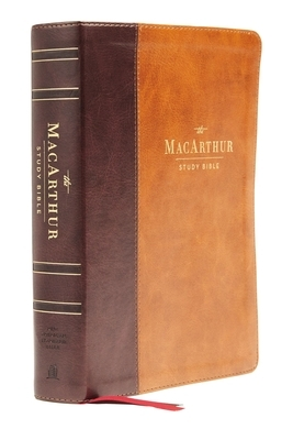 Nasb, MacArthur Study Bible, 2nd Edition, Leathersoft, Brown, Thumb Indexed, Comfort Print: Unleashing God's Truth One Verse at a Time