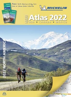Michelin North America Large Format Road Atlas 2022: USA - Canada - Mexico