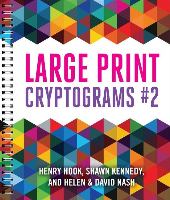 Large Print Cryptograms #2