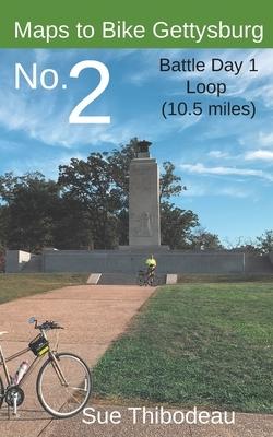 Maps to Bike Gettysburg No. 2: Battle Day 1 Loop
