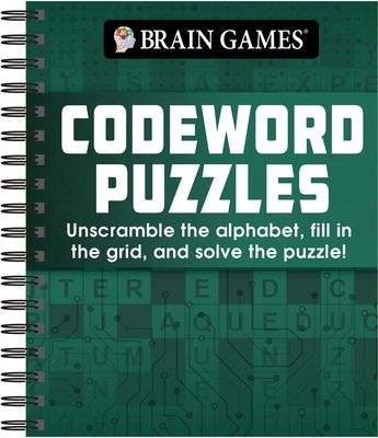 Brain Games - Codeword Puzzle: Unscramble the Alphabet, Fill in the Grid, and Solve the Puzzle!