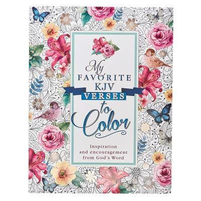 Coloring Book My Favorite KJV Verses