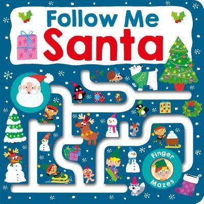 Maze Book: Follow Me Santa