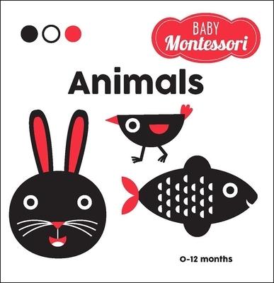 Animals: A Baby Montessori Book