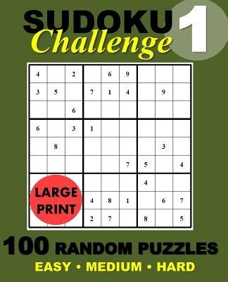 Suduko Challenge #1: 100 Random Suduko Puzzles