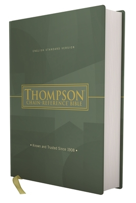Esv, Thompson Chain-Reference Bible, Hardcover, Red Letter