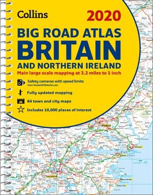 2020 Collins Big Road Atlas Britain and Northern Ireland