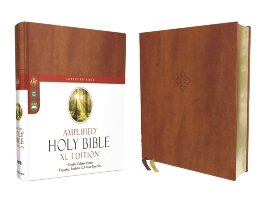 Amplified Holy Bible, XL Edition, Leathersoft, Brown