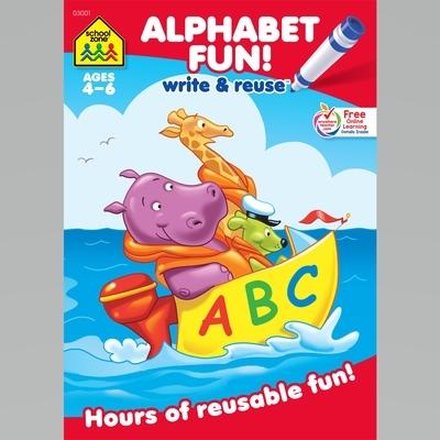 Alphabet Fun a Wipe-Off Book: Hours of Reusable Fun!