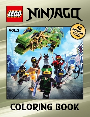 Lego Ninjago Coloring Book Vol2: Great Coloring Book for Kids and Fans - 40 High Quality Images.