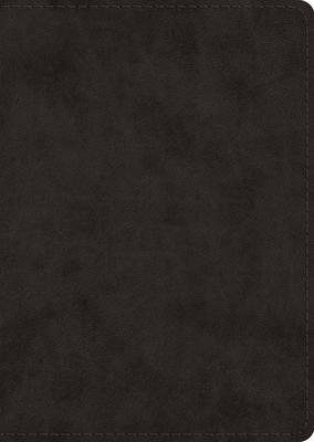 ESV Study Bible, Large Print (Trutone, Black)