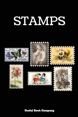 Stamps: Stamp book for stamp collectors, 6 x 9,