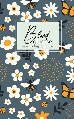 Blood glucose monitoring log book: small log book Diabetics glucose daily monitoring blood tracking Diabetic Portable Size 5x 8 inch 104 Weekly for 2