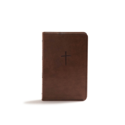 KJV Compact Bible, Brown Leathertouch, Value Edition