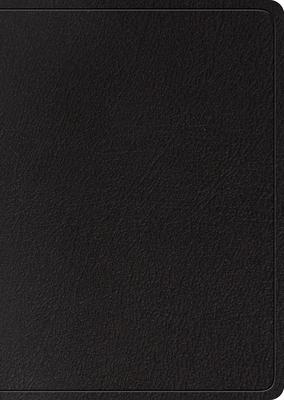 ESV Study Bible, Large Print (Black, Indexed)