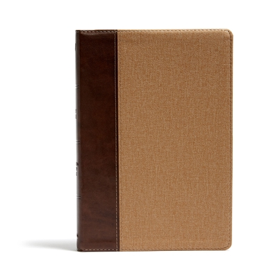 KJV Rainbow Study Bible, Brown/Tan Leathertouch: Ribbon Marker, Color-Coded Text, Smythe Sewn Binding, Easy to Read Bible Font, Bible Study Helps, Ful