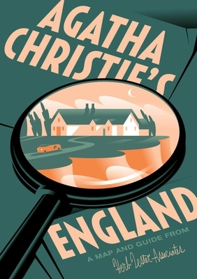 Agatha Christie's England: A Map and Guide from Herb Lester