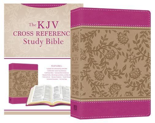 KJV Cross Reference Study Bible Compact [Peony Blossoms]