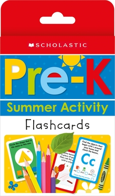 Prek Summer Activity Flashcards (Preparing for Prek): Scholastic Early Learners (Flashcards)