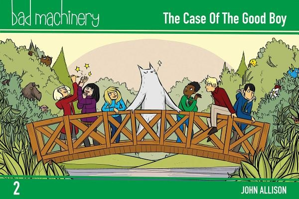 Bad Machinery Vol. 2, 2: The Case of the Good Boy, Pocket Edition