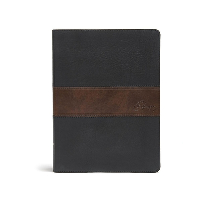CSB Spurgeon Study Bible, Black/Brown Leathertouch(r): Study Notes, Quotes, Sermons Outlines, Easy-To-Read Font