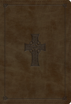 ESV Student Study Bible (Trutone, Olive, Celtic Cross Design)