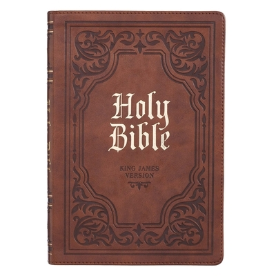 KJV Bible Thinline Brown