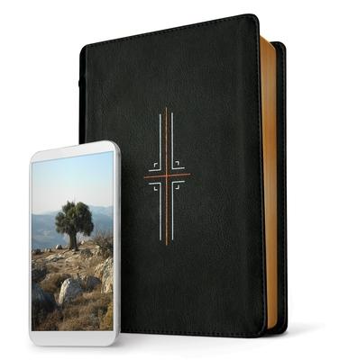 Filament Bible NLT (Leatherlike, Black, Indexed): The Print+digital Bible