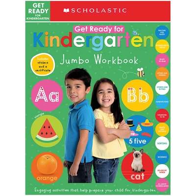 Get Ready for Kindergarten Jumbo Workbook: Scholastic Early Learners (Jumbo Workbook)