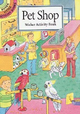 Pet Shop Sticker Activity Book