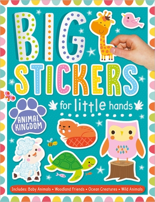 Big Stickers for Little Hands Animal Kingdom