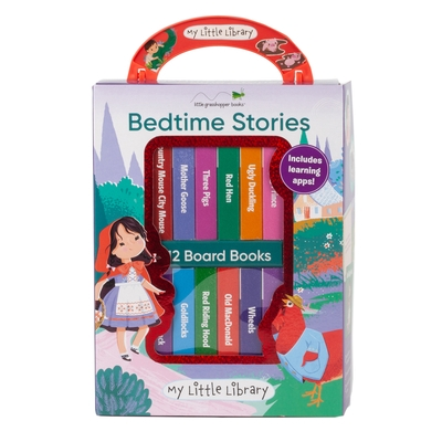 My Little Library: Bedtime Stories (12 Board Books & 3 Downloadable Apps!)